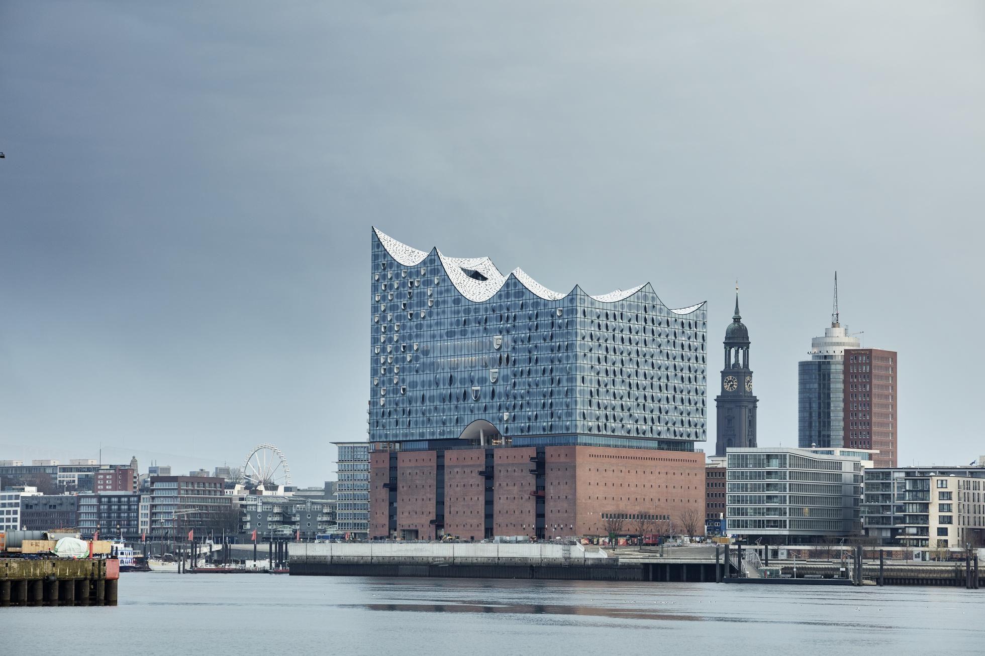 Die Neue Elbphilharmonie Hafencity Hamburg Architektur Hamburg