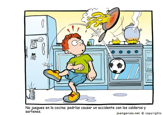 Prevencion accidentes en ni os buscar con google for Bebes discutiendo en la cocina
