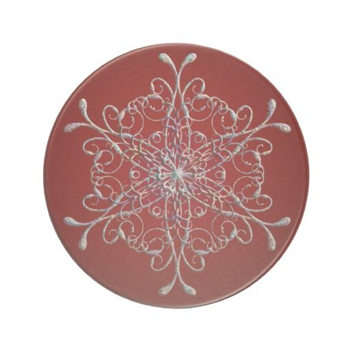 Red Iridescent Snowflake Coasters http://www.zazzle.com/red_iridescent_snowflake_coasters-174001421629224126?rf=238271513374472230  #christmas  #homedecor  #christmasideas