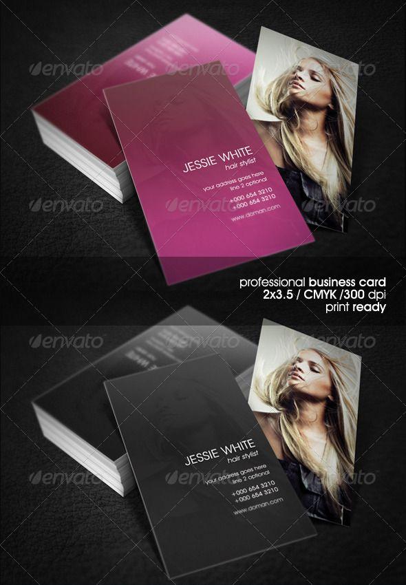 hair salon business cards, hairstylist business cards, hair ...