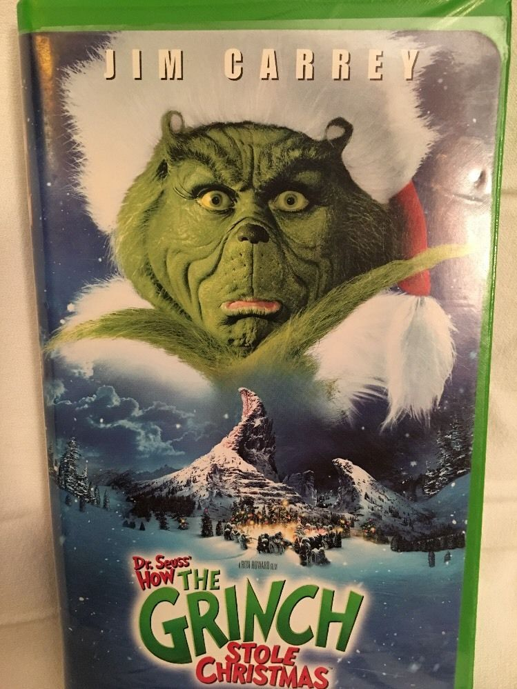how the grinch stole christmas vhs video tape ebay - How The Grinch Stole Christmas Vhs