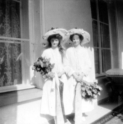 Grand duchess Olga and Grand duchess Tatiana