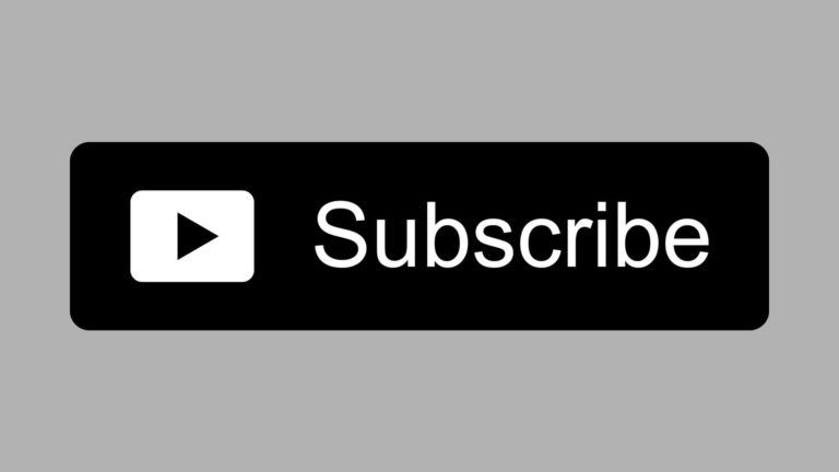 Free Black Youtube Subscribe Button Png Download By Alfredocreates Youtube Free Youtube Video Editing Apps