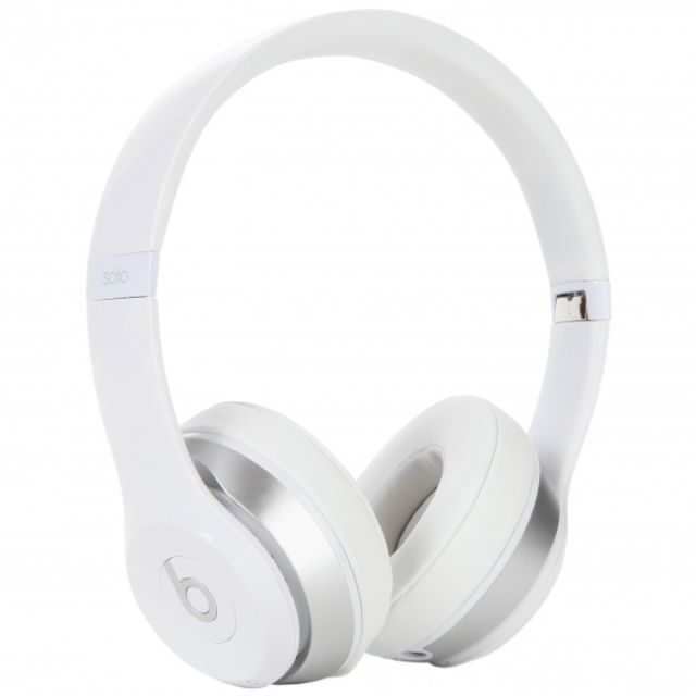 Beats By Dr Dre Solo2 Wired Headband Headphones White White Headphones Headphones