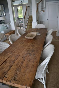 Long Skinny Farm Table Google Search Farmhouse Dining Room