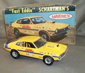 Fast Eddie Maverick Model Cars Kits Plastic Model Kits Monogram Models
