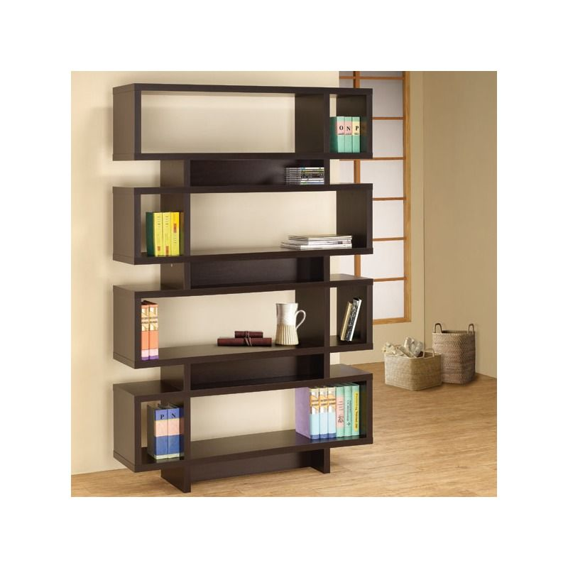 This Is Modern Mad Men Style To The Max! Dasher Bookcase | Weekends Only  Furniture And Mattress