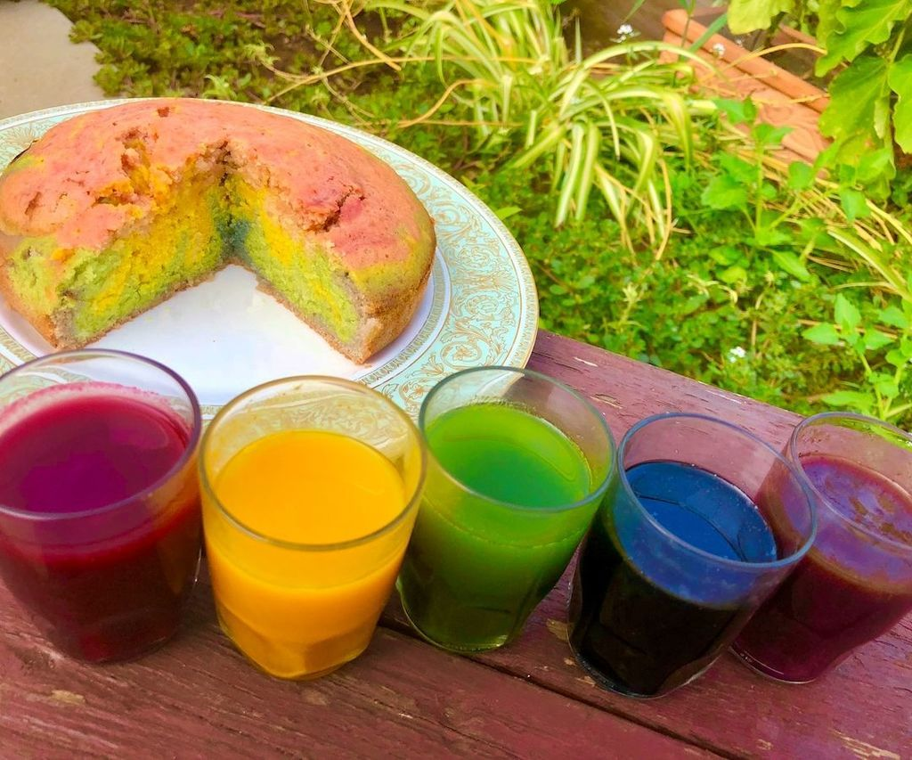 Homemade organic food colouring in 2020 with images