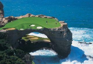 19++ Amazing golf holes info