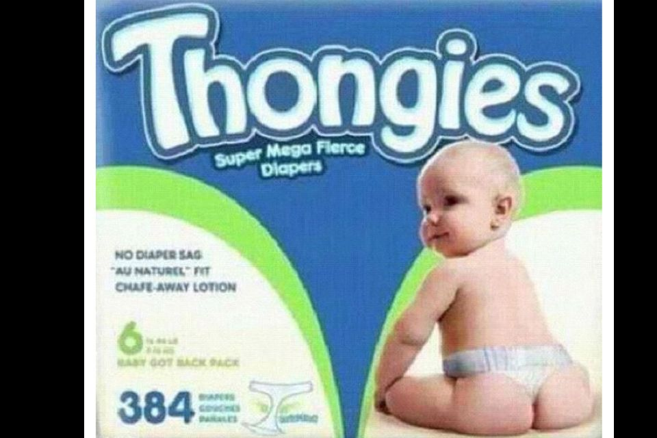 Seriously Thongs For Babies Lol Laugh Lol Haha Funny