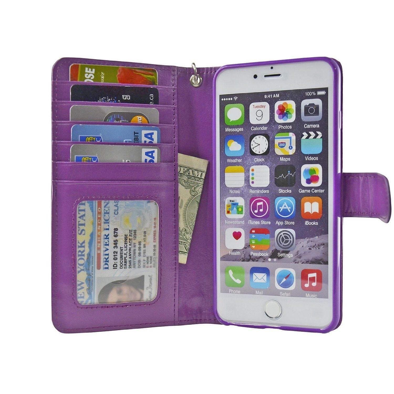 5.5-inch iPhone 6/6S Plus Wallet Case - Navor