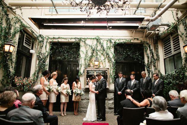 V Lounge Restaurant Yaletown Wedding