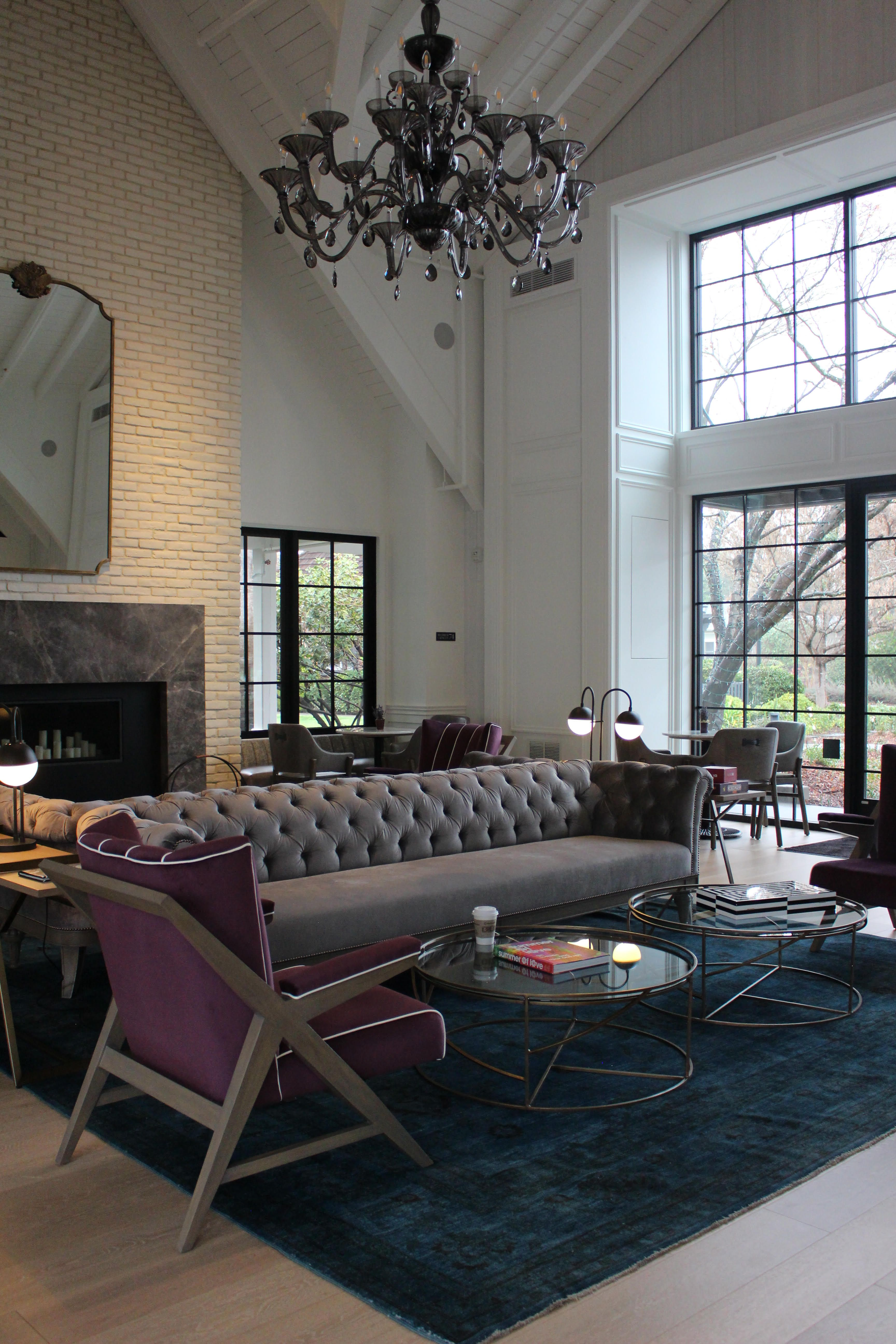 The Fabulous, FarmhouseLuxe Hotel Vintage House in Napa