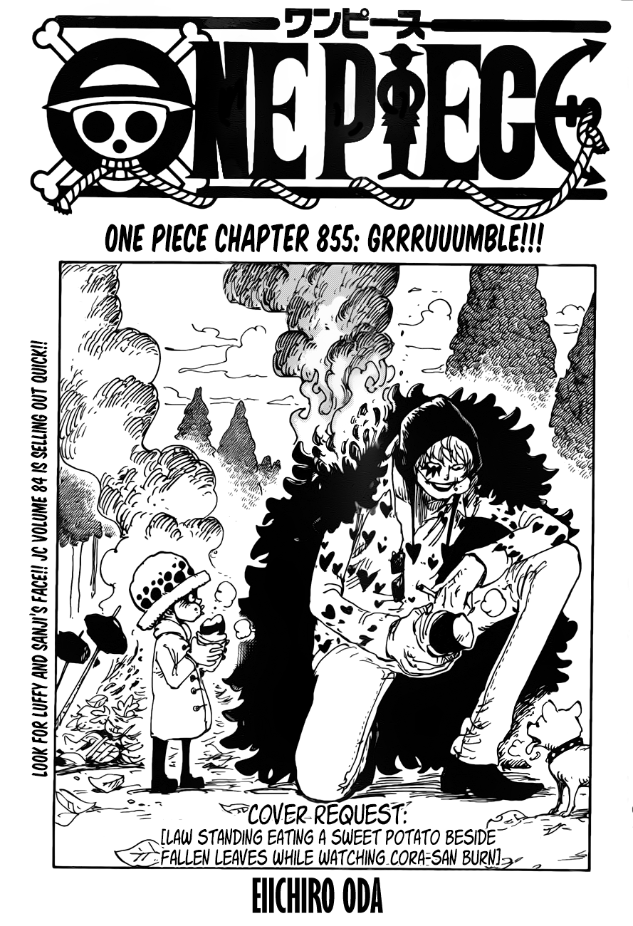 Page 1 :: One Piece :: Chapter 855 :: Jaimini's Box   One ...