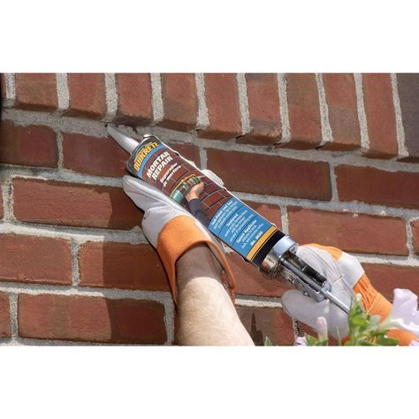 Quikrete 10 Oz Mortar Repair Sealant 862009 The Home Depot In 2020 Mortar Repair Brick Repair Diy Home Repair
