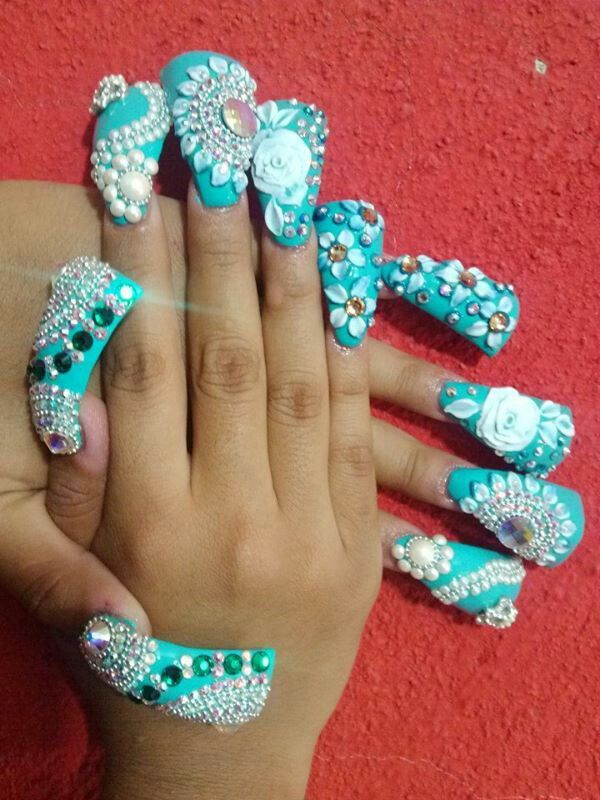 Estilo Sinaloa | FINGER NAILS | Pinterest | Nail nail, Duck nails ...