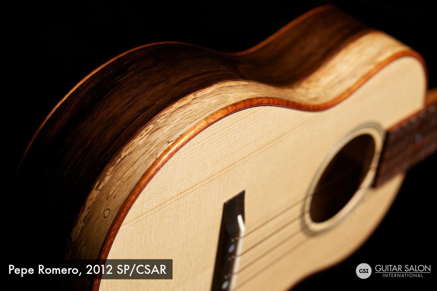 "Guitar Salon International: 2012 Pepe Romero ""Ukulele"" SP/CSAR"