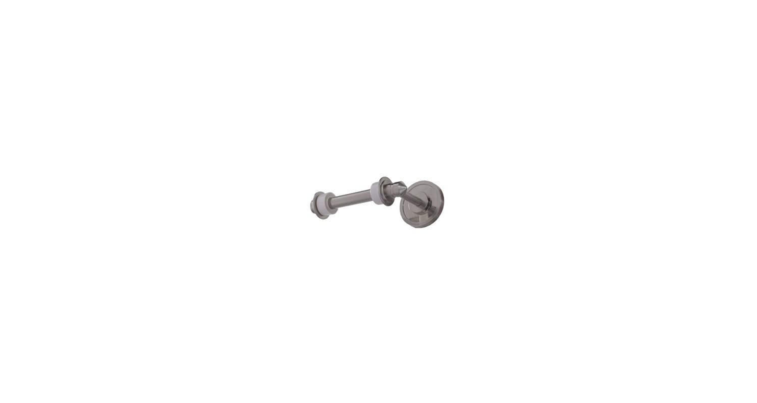DVI Lighting DVP3698 Toilet Paper Holder from the Dominion Collection Satin Nickel Accessory Tissue Holder