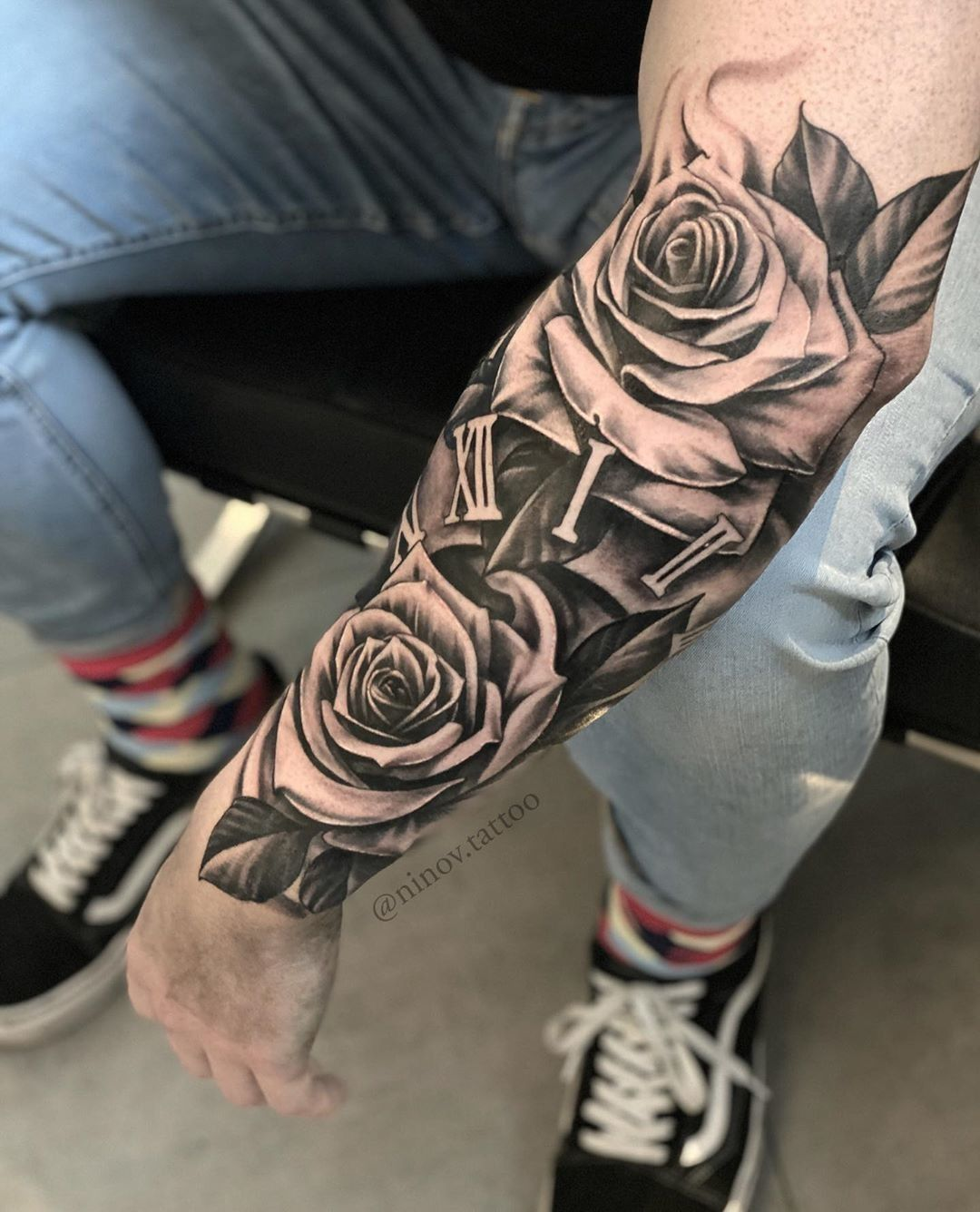 Pin By Davidbgh On Pp In 2020 Rose Tattoos For Men Sleeve Tattoos For Women Tattoos For Guys