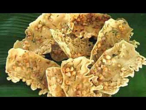 """""""Cara Membuat Rempeyek Kacang Tanah Renyah Enak"""" - YouTube   Savory snacks, Savory dessert"""
