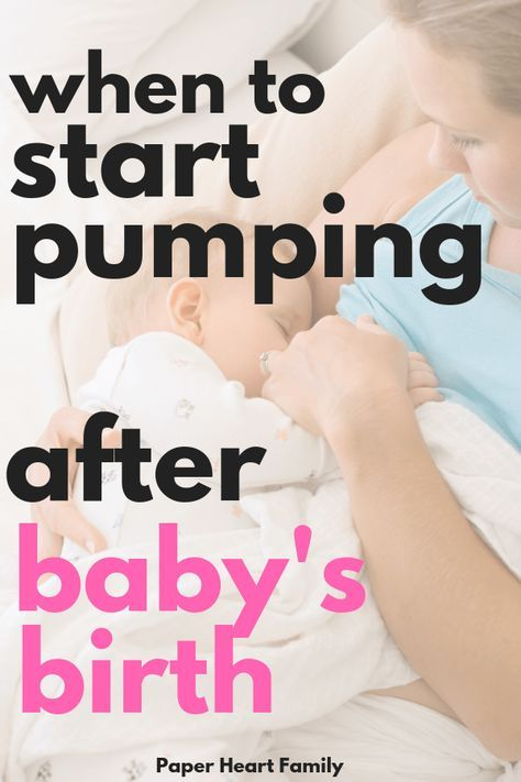 When To Start Pumping Milk After Birth Is Pumping After -1536