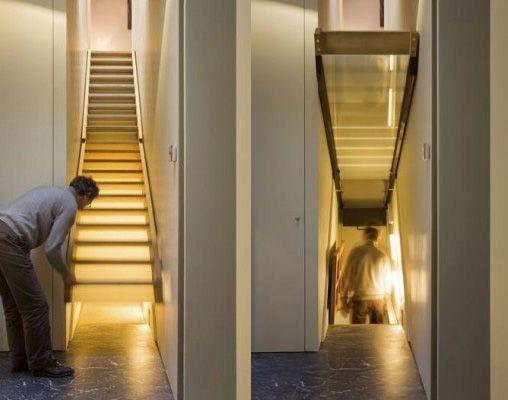 Best Hidden Stairs To Basement 패닉룸 숨겨진 방 집 개조 400 x 300