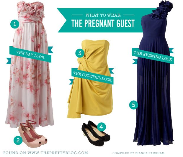 What to Wear: The Pregnant Guest | Pregnancy, Maternity fashion and Bump
