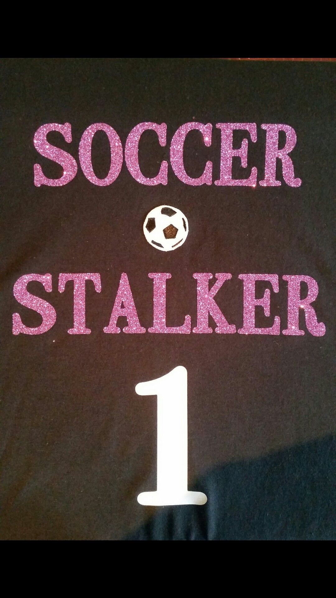 diy used the cricut expression 2 to cut out iron on vinyl letters soccer ball is an iron on patch