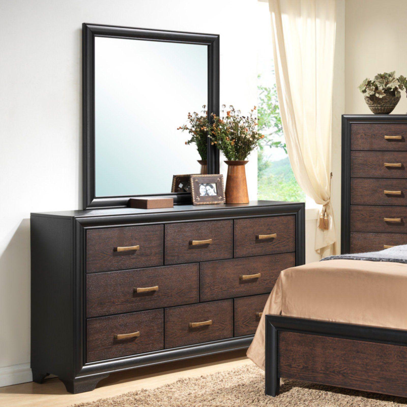 Emerald Home Prelude 7 Drawer Dresser In 2019 Furniture Acme