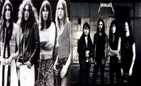 Muro Do Rock Metallica