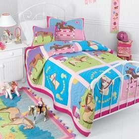 Horse Themed Bedrooms Horse Show Winner Quilt Bedding