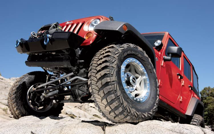 Used Jeep Off Road Tires.