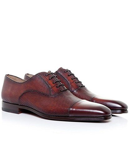 Magnanni Zapatos Oxford de pata de gallo Cognac EU42 / UK... https: ·  ZapatosOxfords