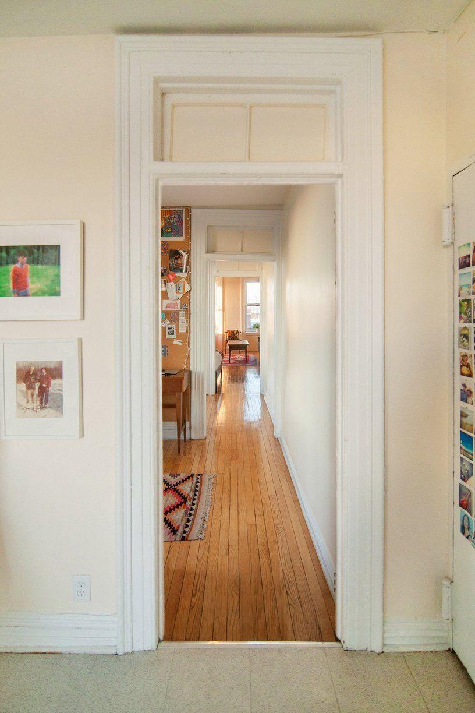 White E Around Pictures In Frames Railroad Apartment Long Hallway Shotgun House