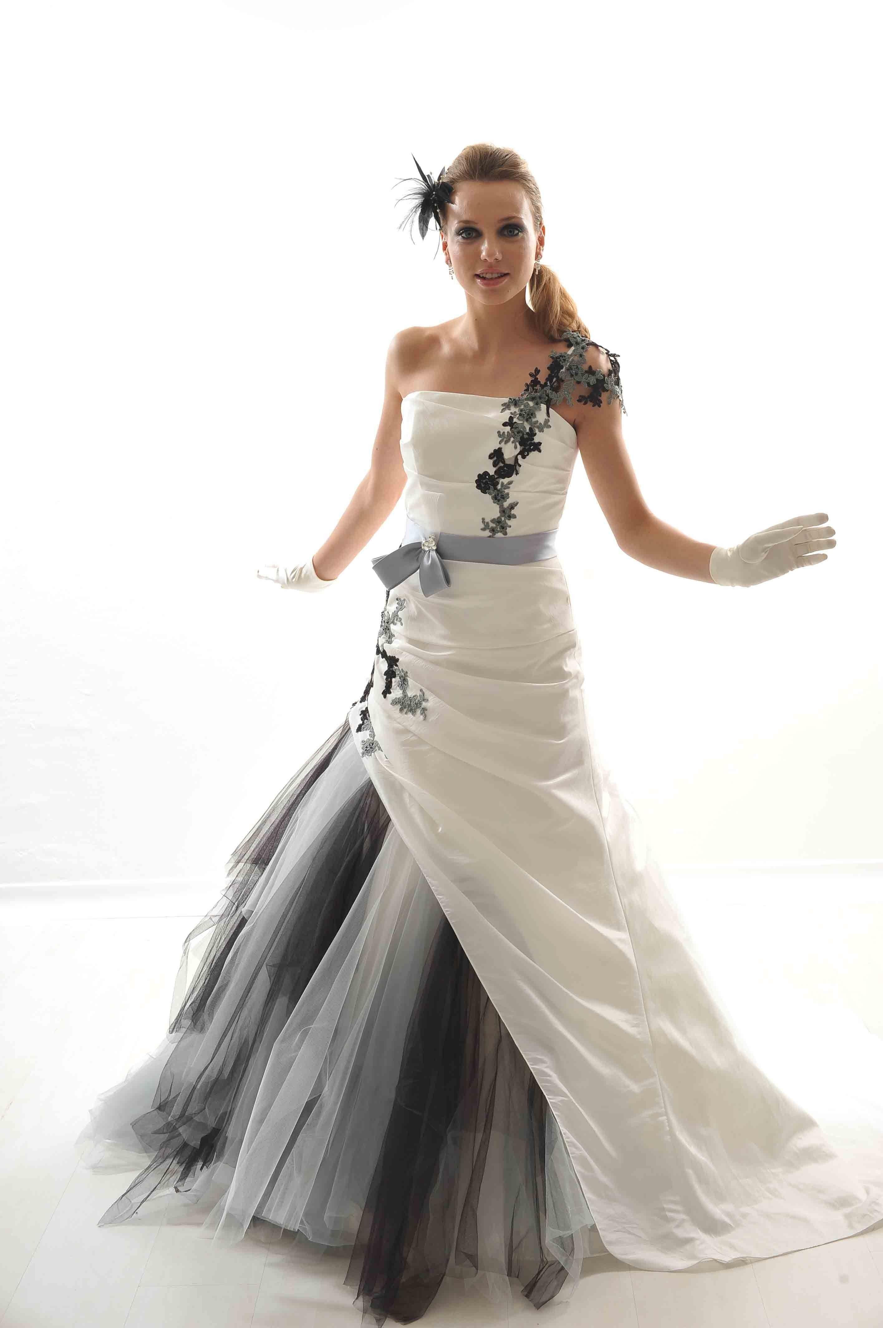 robe mariee blanche et noire.Les 20 Meilleures
