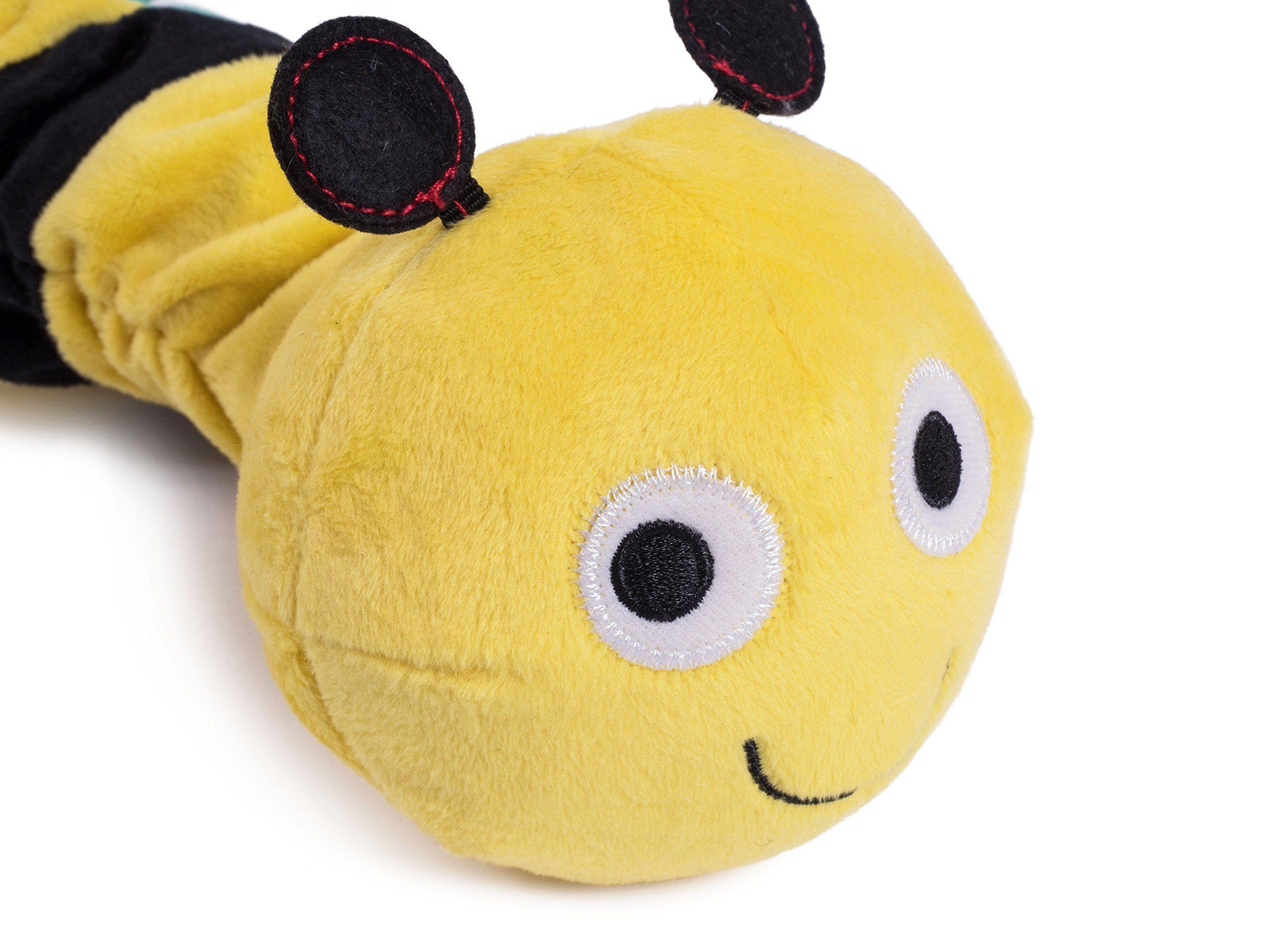 Petface Dog Toy Tough Plush Bert Bee Pet Squeaky Toy Desire To