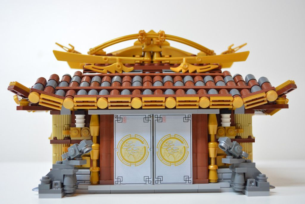 Customizable model to create a Shrine or Dojo Please support the Lego Ideas project! We need your votes: ideas.lego.com/projects/142449