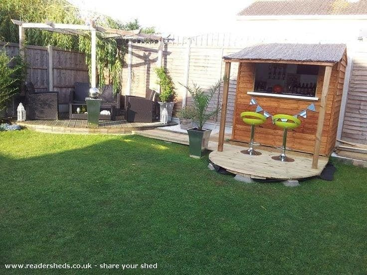 Make a Backyard Pub Shed & This Is How To Make Your Shed Into Your Own Private Bar
