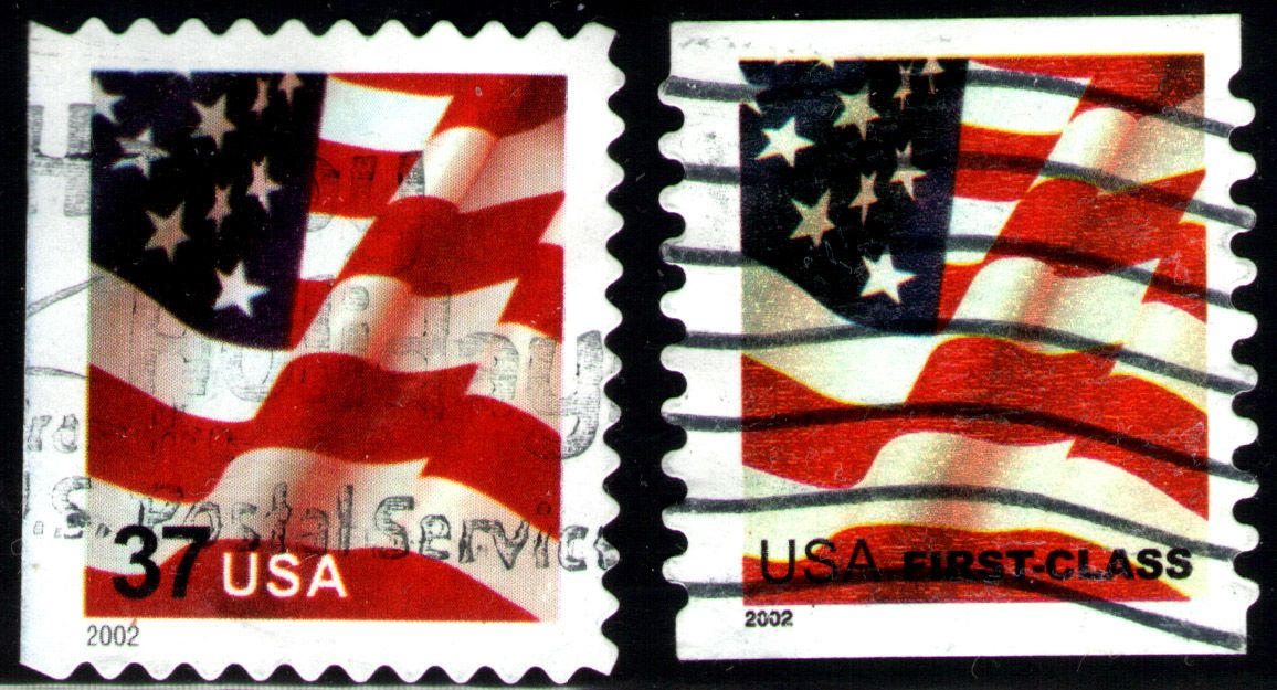 US Flag Stamps
