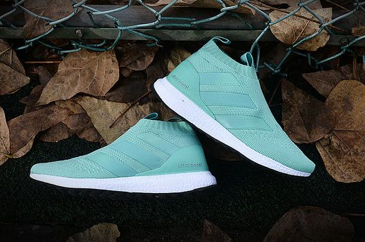 wmns adidas ace 16 purecontrol ultra boost mint tiffany blue