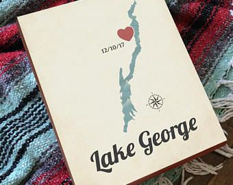 Image result for lake george art iconic