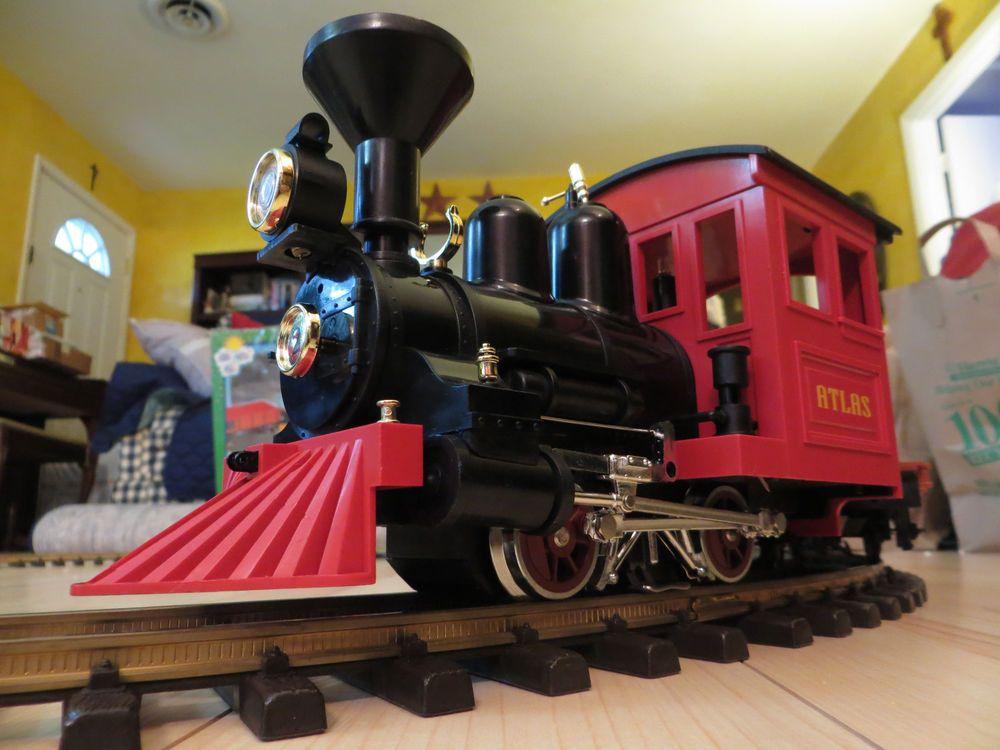 Lehmann G Scale Toy Train Starter Set 92782 Original Box Runs Great