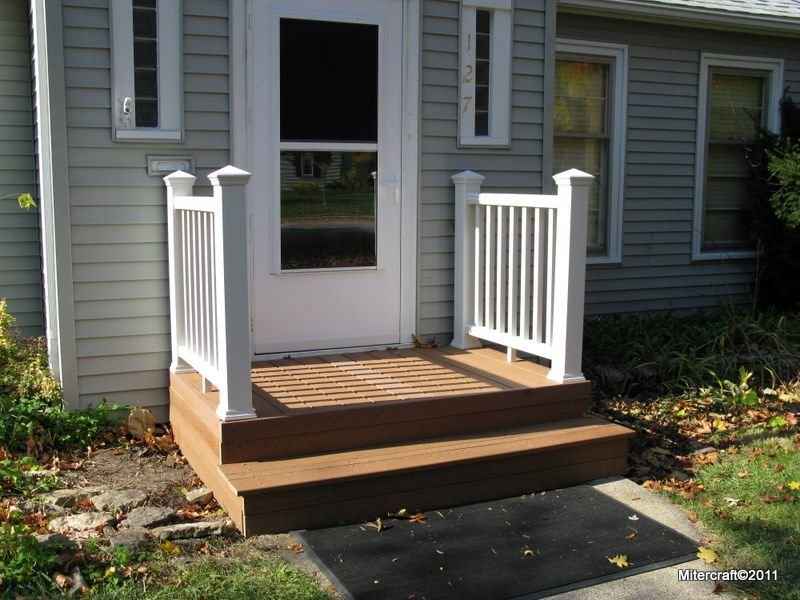 Trex vs evergrain decks images inviting entry stoops for Evergrain decking vs trex