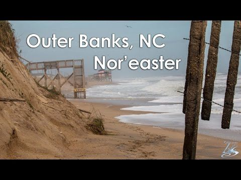 The aftermath from the recently nor' easter #KittyHawk #OuterBanks #OBX