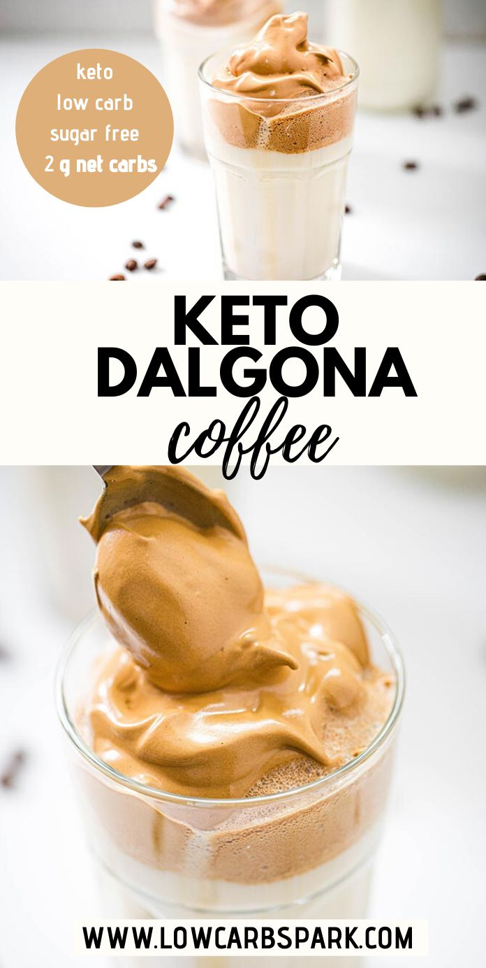 Keto Dalgona Coffee SugarFree Whipped Coffee Recipe