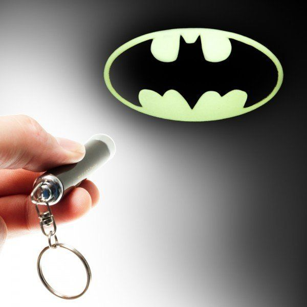 Fancy - Batman Logo Flashlight Keychain