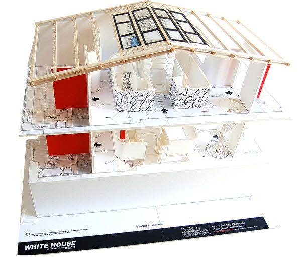 Dise o de interiores de casa moderna con fuente de for Studio 84 diseno de interiores