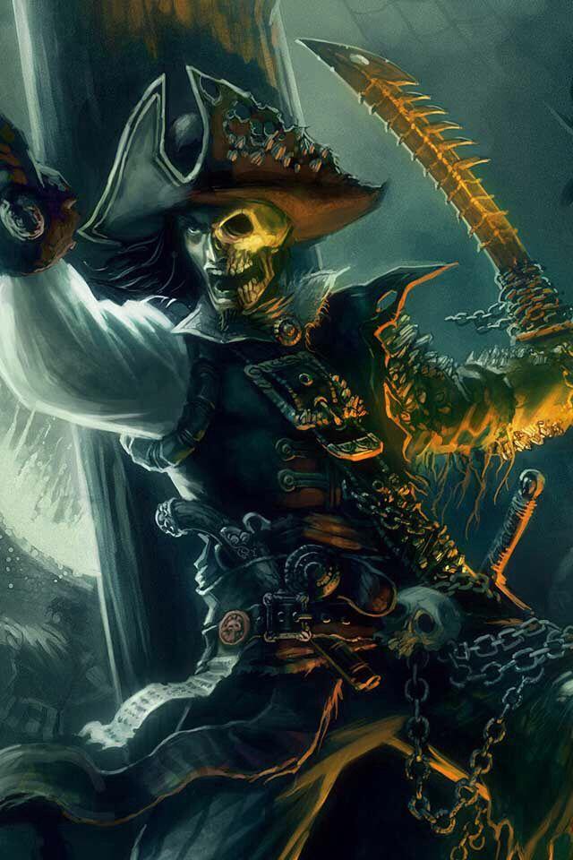 Картинки пиратских скелетов