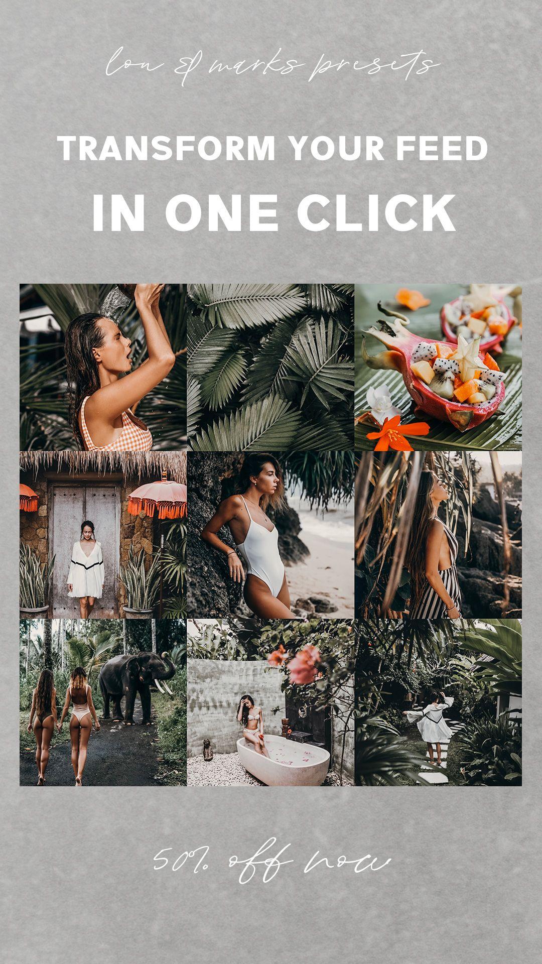 8 Mobile Lightroom Presets TRAVEL PACK  Instagram presets  Travel presets  Blogger presets