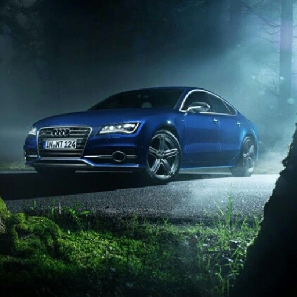 This Audi S7 Could Feature In A Fairy Tale! #audi
